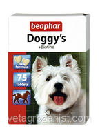 Витамины БЕАФАР для собак Догис биотин, №75 BEAPHAR