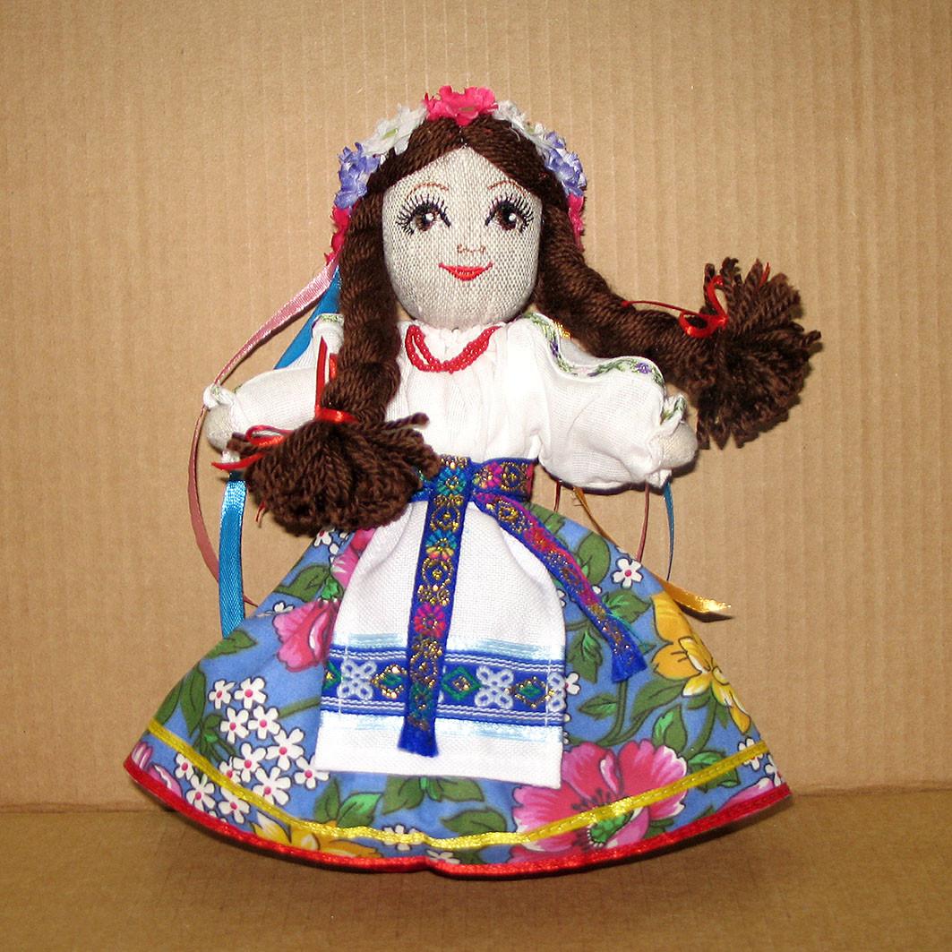 Кукла украинка, куклы в национальном костюме, : продажа ...