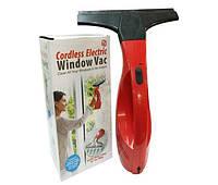 Беспроводный вакуумный скребок для окон Cordless Electric Window Vac