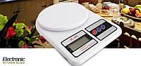 Весы кухонные электронные до 7 кг Electronic Kitchen Scale SF-400 , фото 1