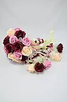 Цветы из мыла набор Свадебный комплект Композиция Soap Flowers Wedding Kit