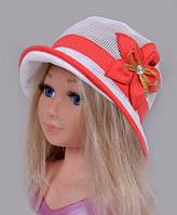 СЕТКА ЛЁН. Р.52-55 (5-9 ЛЕТ)  Шляпка из сетки. Очень хорошо смотрится, удобно сидит на голове. Поля гибкие, их