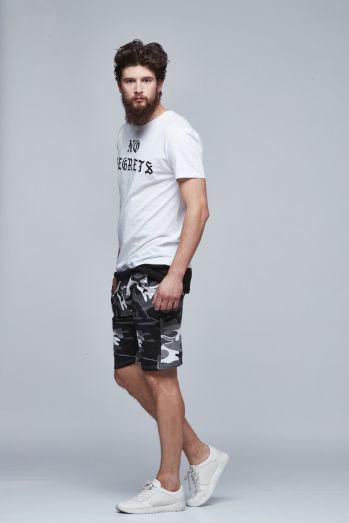 fcaf08b1c165f Мужская футболка удлиненная.Мужская длинная футболка. Белая и черная. №248  - Men's