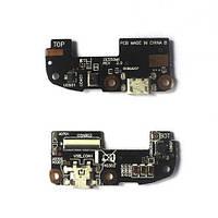 Шлейф для Asus ZenFone 2 (ZE550ML, ZE551ML), с разъемом зарядки, с микрофоном, плата зарядки