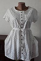 Блуза-туника с пуговками