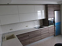 Кухни на заказ Одесса. Пластик,шпон,blum, фото 1
