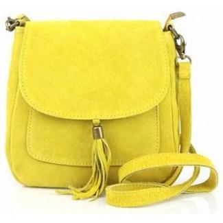 Женская сумка через плечо Lanira из замши