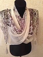 Красивый женский шарф 1886 (цв 6)