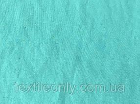 Тканина Плащівка Sarenta колір бірюзовий