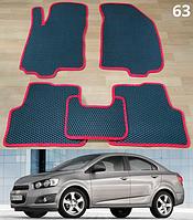 Коврики на Chevrolet Aveo '11-н.в. T300. Автоковрики EVA