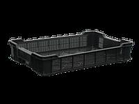 Ящик пластиковый чешка 600х400х110 черный