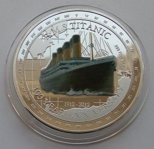 Тувалу. 100 лет гибели Титаника 2012 г.