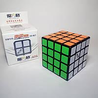 Кубик Рубика 4х4 QiYi Thunderclap 62 mm Black (MoFangGe), фото 1