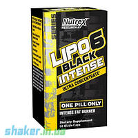 Жиросжигатель Nutrex Lipo 6 black intense Ultra Concentrate (60 капс) липо 6 блэк блек нутрекс