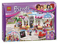 """Конструктор Bela Friends 10496 """"Кондитерская"""" (аналог LEGO Friends 41119), 444 детали"""
