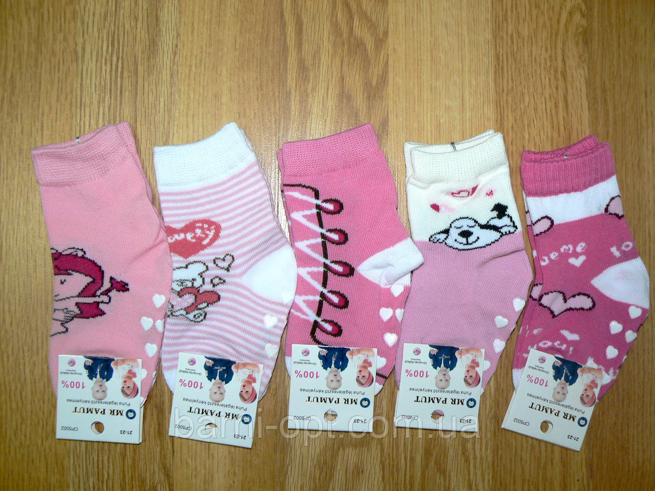 Носки для девочек оптом Mr.Pamut оптом 15-23 р