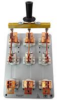 Рубильник РПЦ-4 400А с центральной рукояткой, без олова, без предохранителей, медные контакты, Универсал Т