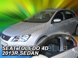 Дефлекторы окон (ветровики)  SEAT TOLEDO - II 4d 1999r.-2005(HEKO)