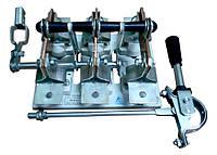 Рубильник РС-6 630А с боковым смещенным приводом на переднюю панель, без олова, Универсал Т, фото 1