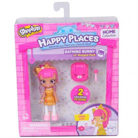 Кукла HAPPY PLACES S1 – ЛУЛУ ЛИППИ (2 эксклюзивных петкинса, подставка)