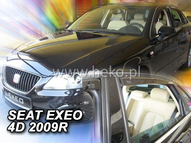 Дефлекторы окон (ветровики)  SEAT EXEO - 4d 2009r.→ SEDAN (HEKO)