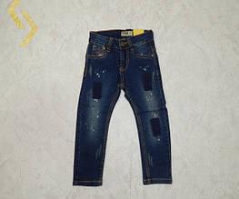 Джинсовые брюки для мальчиков S&D 4-12 лет