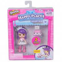 Кукла HAPPY PLACES S1 – МЕЛОДИНА (2 эксклюзивных петкинса, подставка)