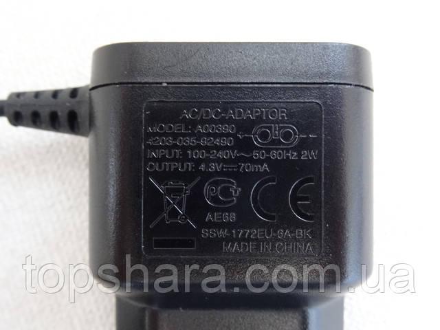 Оригинальный блок питания, зарядное устройство триммера Philips QG3270 QG3250