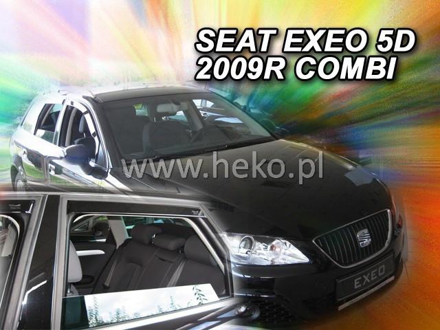 Дефлекторы окон (ветровики)  SEAT EXEO - 5d 2009r.→ COMBI (HEKO)