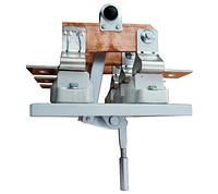 Рубильник РЦ-1 100А с центральным приводом заднего присоединения (снаружи шкафа), без олова, Универсал Т, фото 1