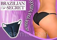 """Женские трусики """"Бразильский секрет"""" Brazilian Secret, Трусы бразильская попа, Трусики с секретом с пуш ап  , фото 1"""
