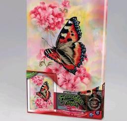 Вишивка гладдю ВСЛ-02-10 Метелик (21х31)ДТ (1/10), фото 2