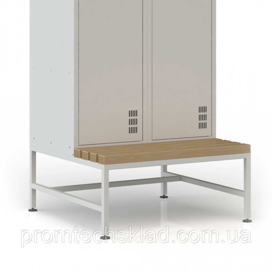 Лавка-подставка под шкаф для одежды шириной 600 мм