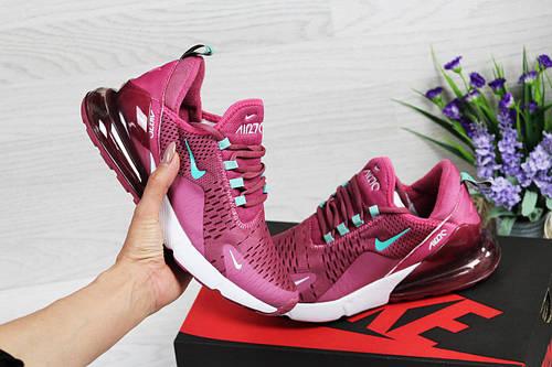 22edf634 Nike Air Max 270 розовые женские кроссовки (Реплика ААА+) - купить по  лучшей цене в Украине от компании