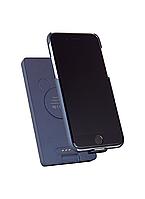 Чехол-павербанк УМБ Modern Technology PB55 5000 mAh + чехол для iPhone 6+/6s+/7+/8+ Blue