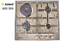 Варочная поверхность BORGIO 6630 (Inox Combi 3+1)