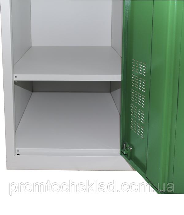 Полка 400 мм к шкафу металлическому