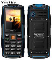 Vkworld stone V3 New IP68 Водонепроникний 2.4 дюймів мобільний телефон 3 SIM 3000 мАч Російська клавіатура, фото 1