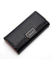 Модный кошелек женский черный код 195