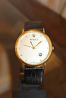 Кварцевые наручные часы с черным ремешком код 15, фото 1