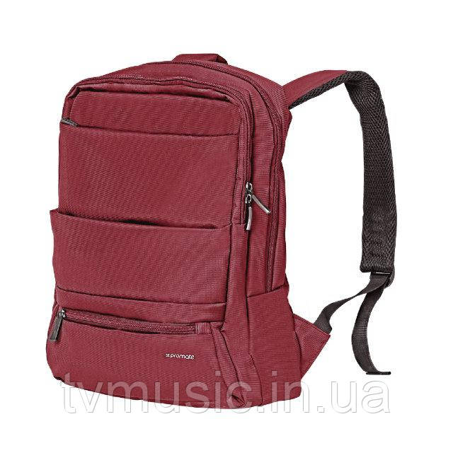 "Рюкзак для ноутбука Promate Apollo-BP 15.6"" Red"