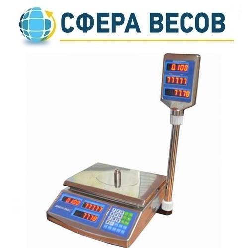 Весы торговые Днепровес F902H-15EDS (15 кг)