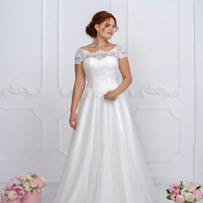 """Свадебное платье  Amour Bridal """"Марта"""" M, айвори"""