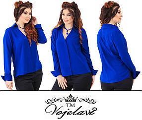 Женская блузка с удлиненной спинкой (Арт. KL115/Electrician)