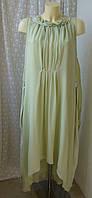 Платье летнее легкое макси р.50 7742а, фото 1