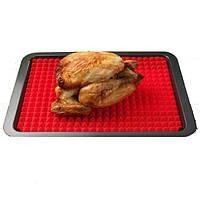 """Силиконовый коврик для запекания мяса """"Пирамидки"""", арт. К-686"""