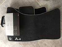 Коврики в салон Audi A4 8K B8 2007+ Новые Оригинальные
