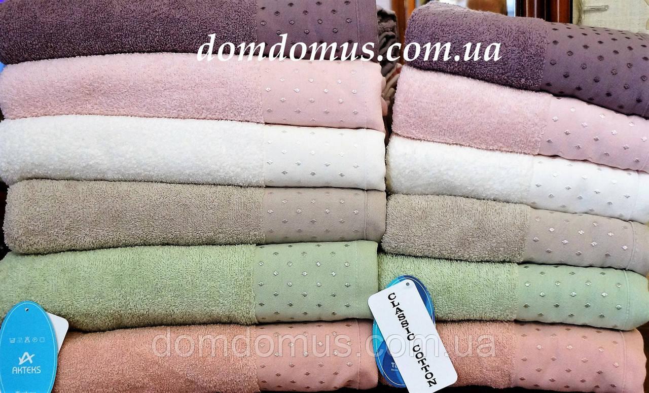 "Полотенца сауна ""Cotton Lenny"" 90*150 TWO DOLPHINS 6 шт./уп., Турция 784"