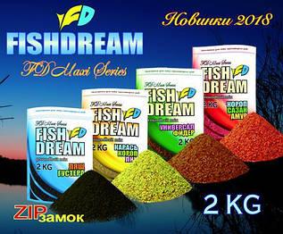 Прикормка FISH DREAM Карась-Карп -Линь 2 кг Новинка