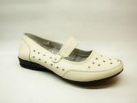 Туфли женские бежевые Т51
